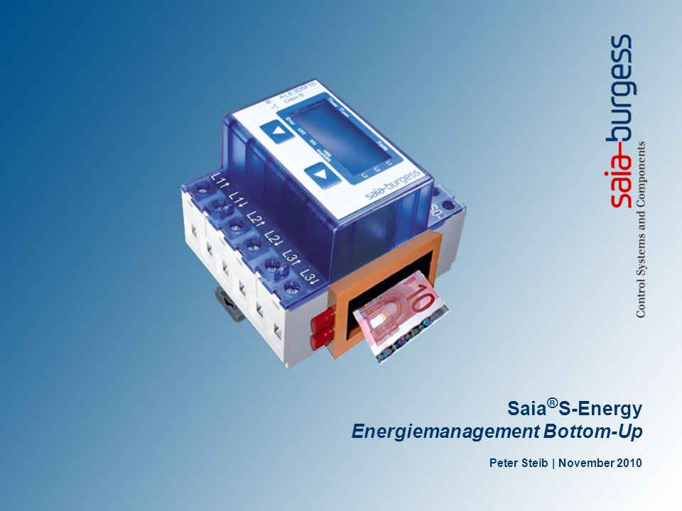 Energiemanagement Top-Down oder Bottom-Up.
