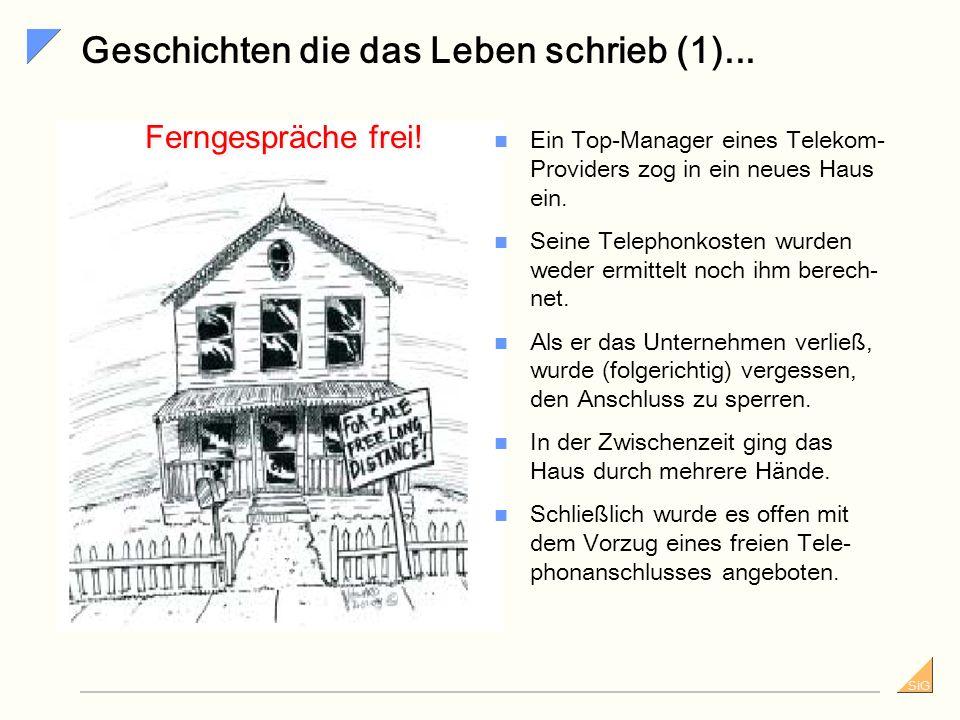 SiG Tipps - Was ist zu beachten.(2) Organisatorische Voraussetzungen...