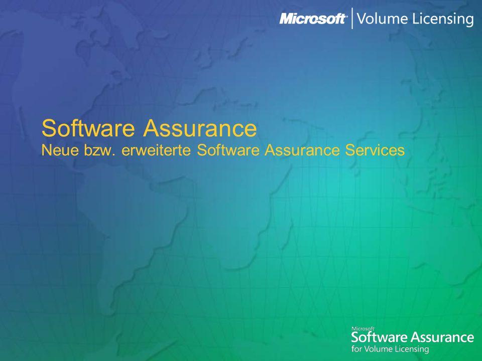 2 Agendapunkte Software Assurance Services Überblick vergangene und kommende Monate SA Services im Produktlebenszyklus Wer bekommt die neuen SA Services.