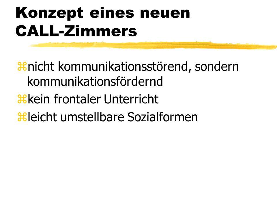 Computerraum: geeignet fürs Deutschlernen.
