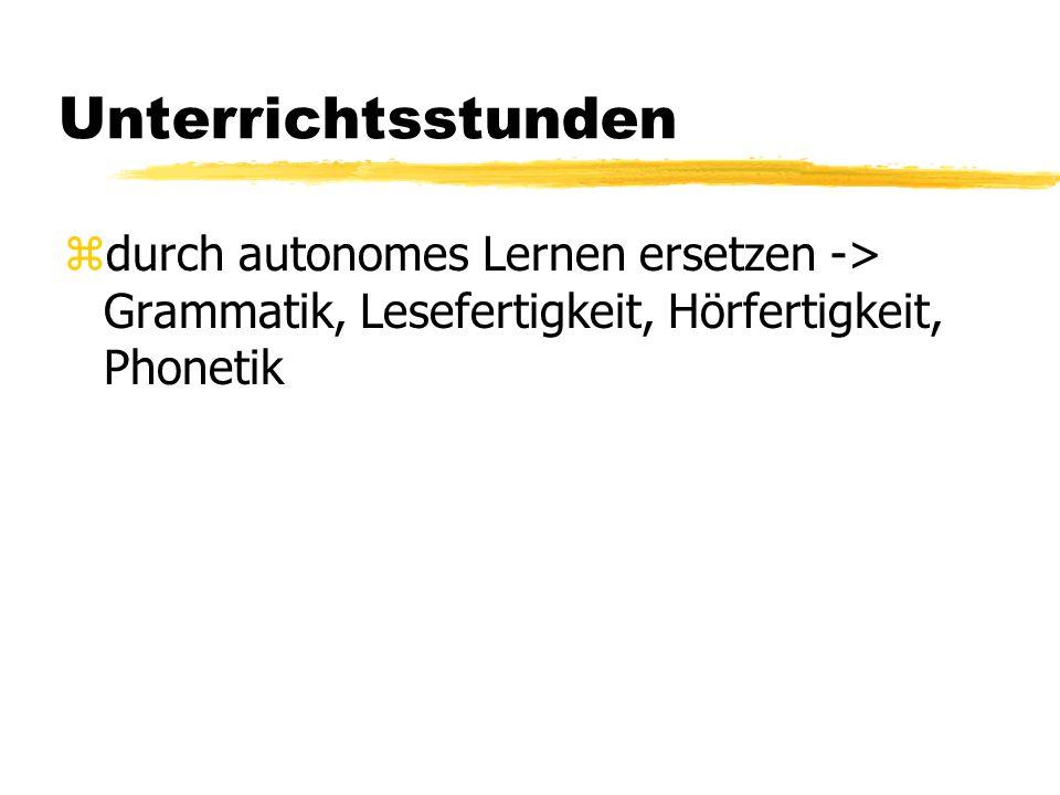 Motivation der Lernenden zdas Gefühl, das man Deutsch braucht/kann/wirklich benutzt.