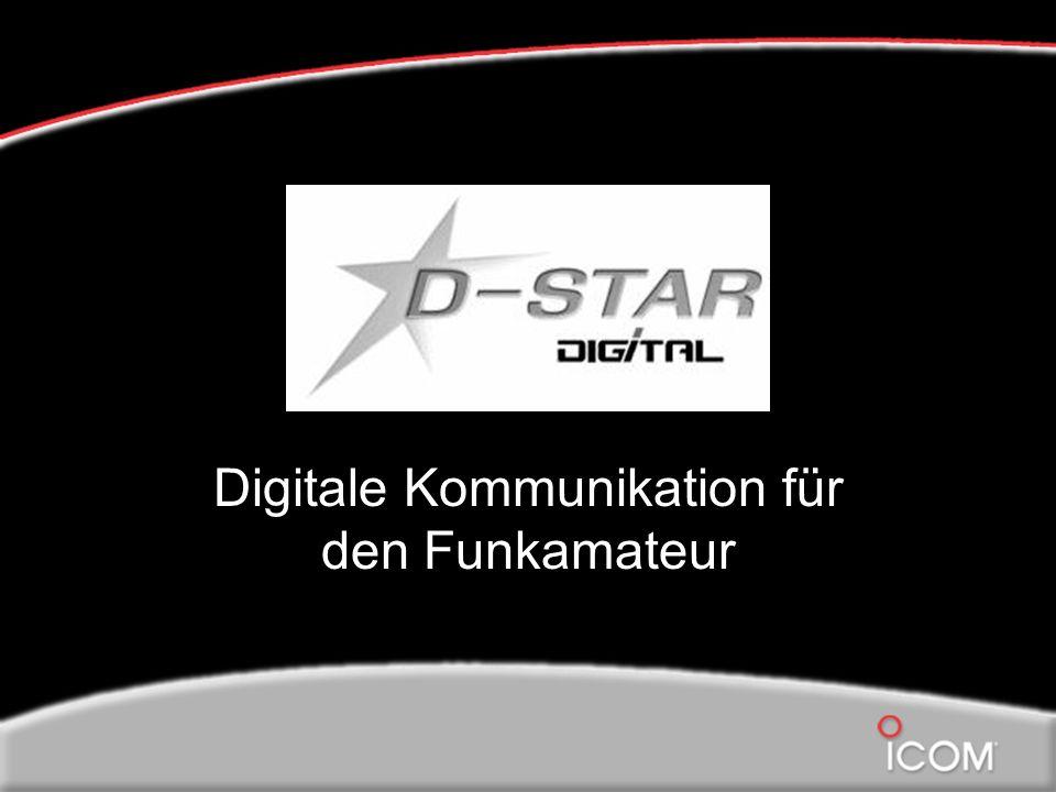 Was bedeutet D-Star Digital Smart Technology for Amateur Radio Veröffentlicht vom JARL (Japanese Amateur Radio League)