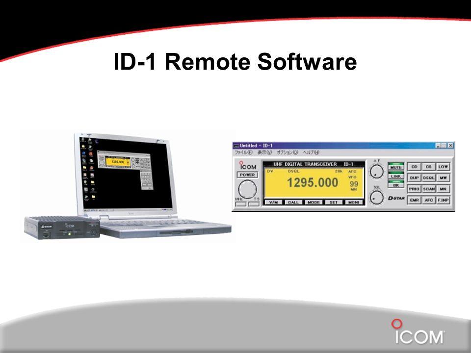 ID-1 Remote Software