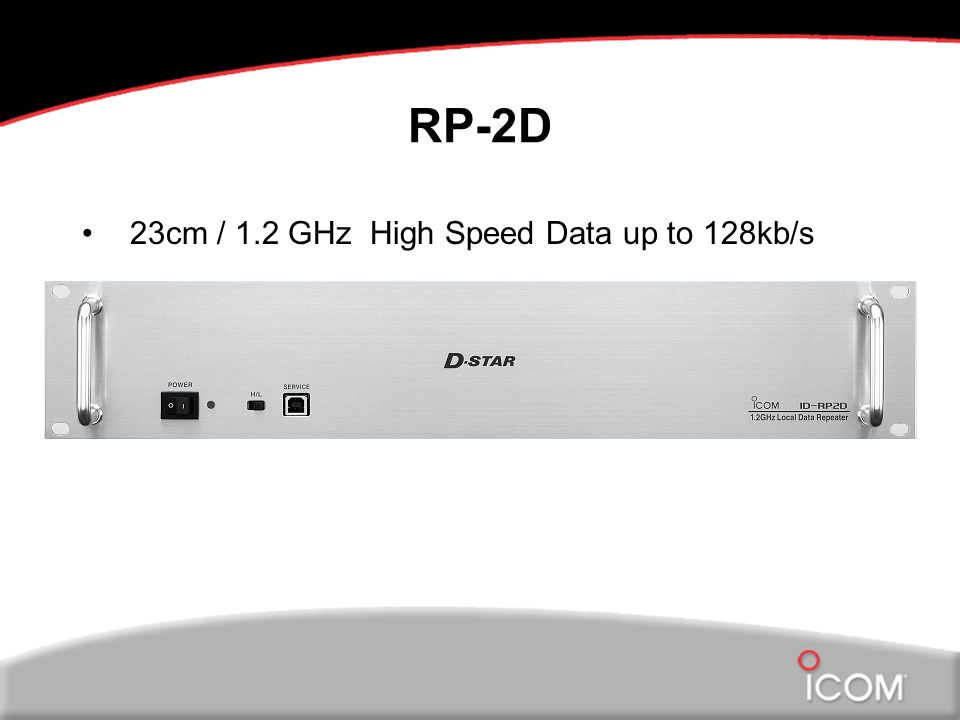 RP-2D 23cm / 1.2 GHz High Speed Data up to 128kb/s