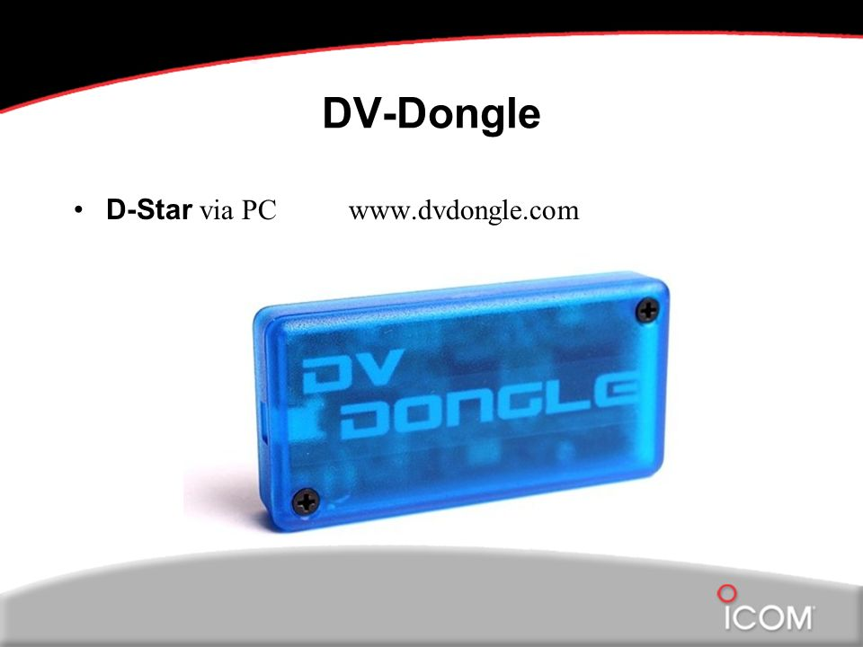 DV-Dongle D-Star via PC www.dvdongle.com