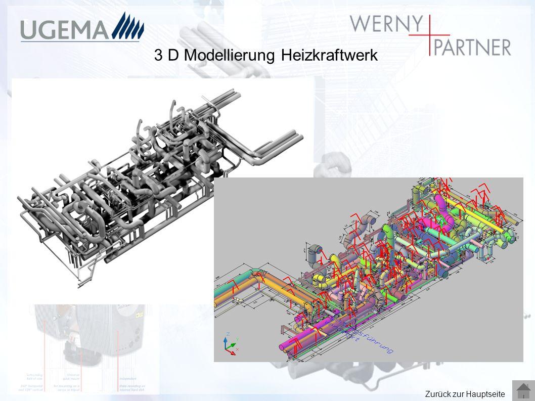 3 D Modellierung Heizkraftwerk Zurück zur Hauptseite