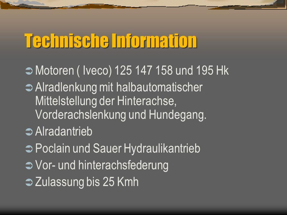Technische Information 2300 – 3200 – 4000 L Behälter. Behälter gefertigt aus Polyethyleen, innen und aussen 100% glatt 18-21-24-27-30-33-36 m Arbeitsb