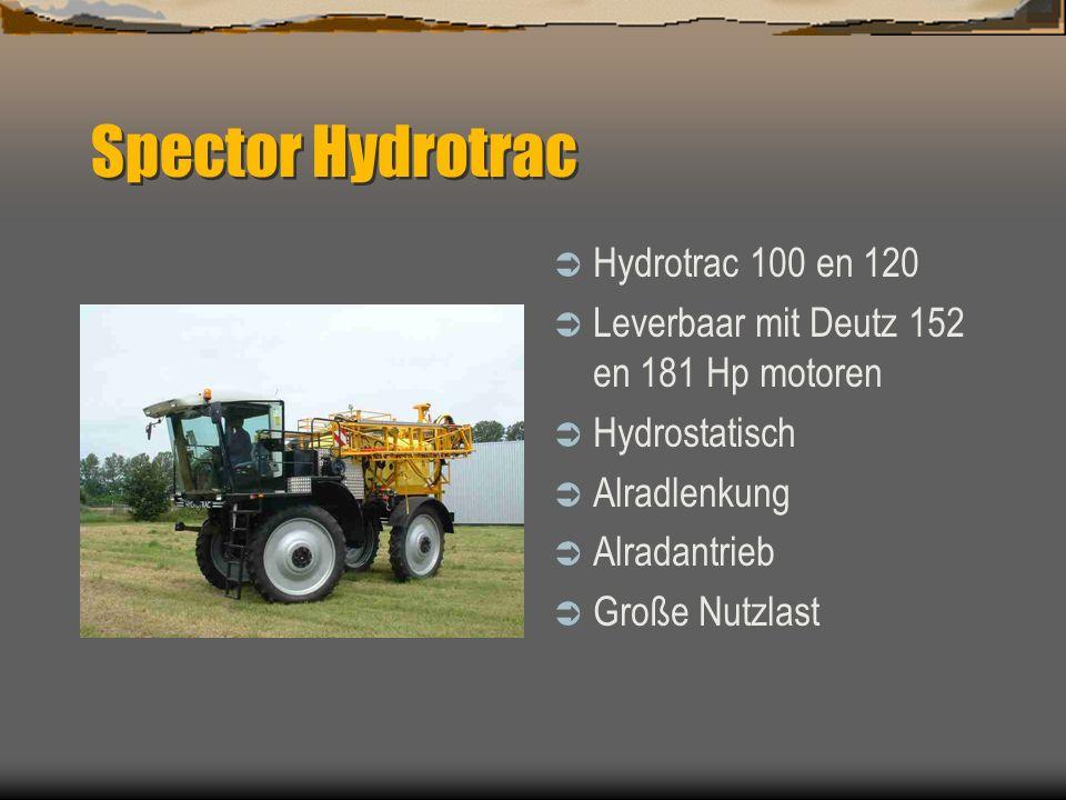 Spector Selbstfahrer Dubex Stadskanaal NL Feldspritzen seit 1953 Komplettes Programm von 600 bist 6000 Liter und Arbeitsbreite bis 45m Anbau, Anhäger