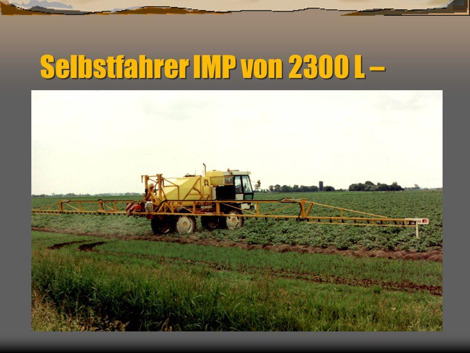 Spector Imp Große Bodenfreiheit bis 1200mm auf 12.4 x 46 Mechanisch oder hydraulische Spurbreitenverstellung