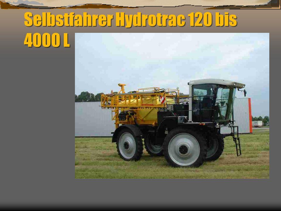Hydrotrac Vorderachse mit luftfederung ( typ 100 ) Hydropneumatische Federung ( type 120 )