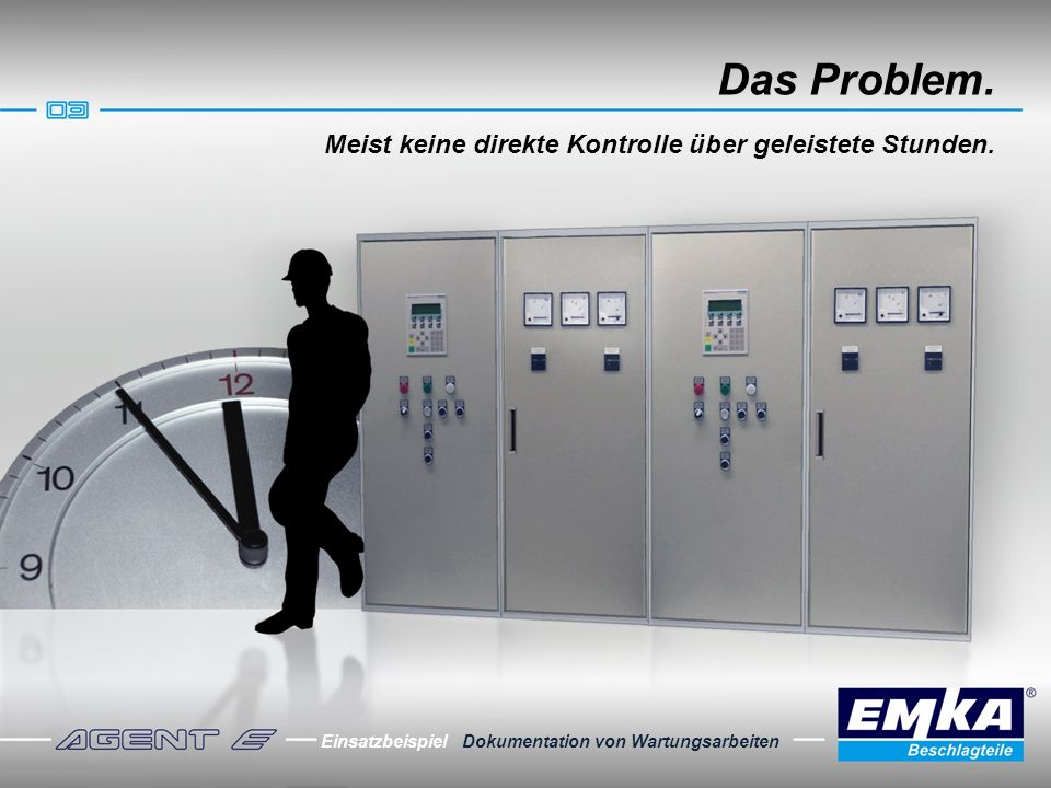 Die Lösung.Sicherung der elektronischen Anlagen.