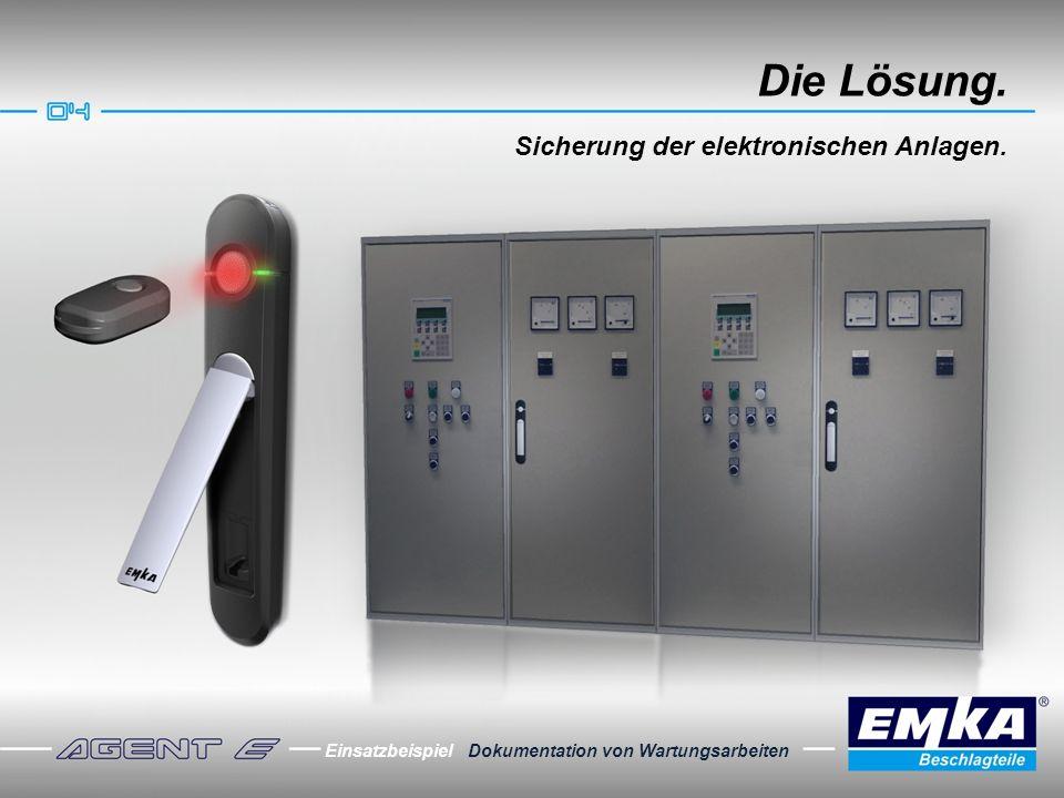 Die Lösung. Sicherung der elektronischen Anlagen.