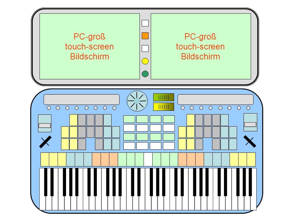 PC-groß touch-screen Bildschirm PC-groß touch-screen Bildschirm