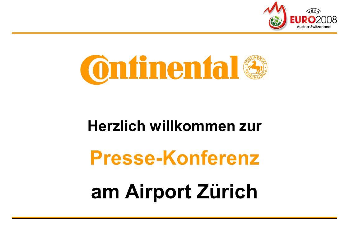 Herzlich willkommen zur Presse-Konferenz am Airport Zürich