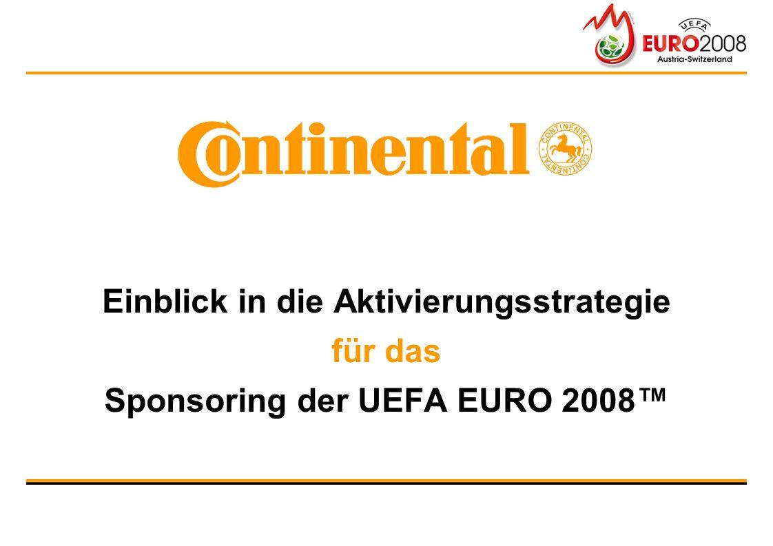 Einblick in die Aktivierungsstrategie für das Sponsoring der UEFA EURO 2008