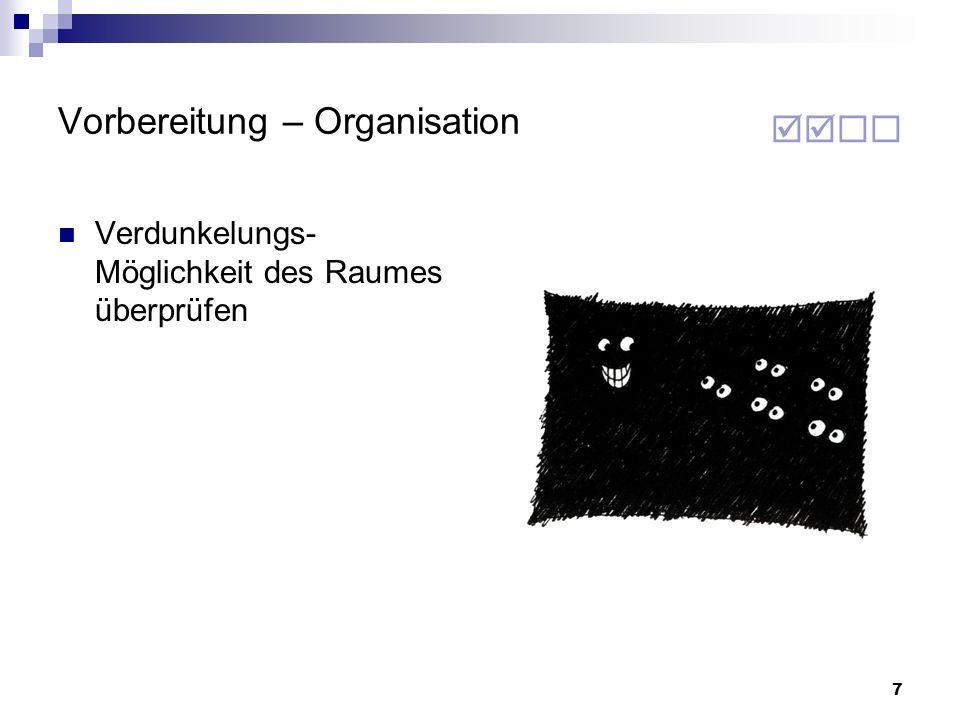 88 Quellenangaben (Abbildungen) Seite 52:Martin Hartmann, u.a.: Gekonnt vortragen und präsentieren Seite 57:Microsoft PowerPoint Seite 58:Josef W.