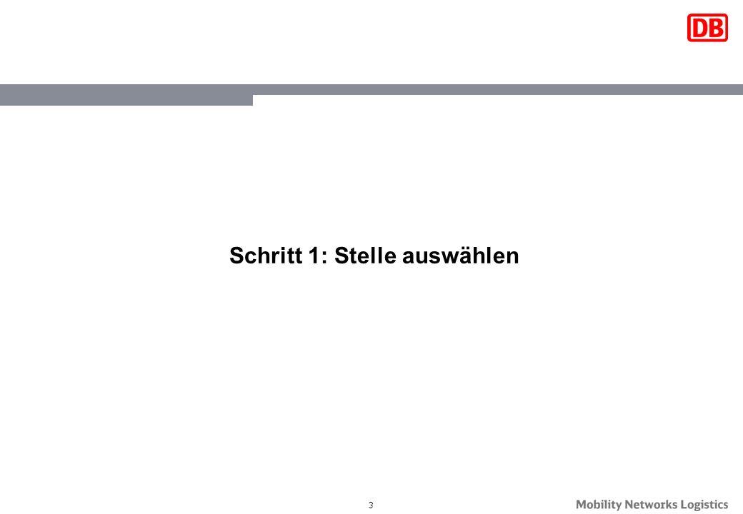 4 Öffnen Sie die DB Stellenbörse unter www.db.de/schueler :www.db.de/schueler 1.