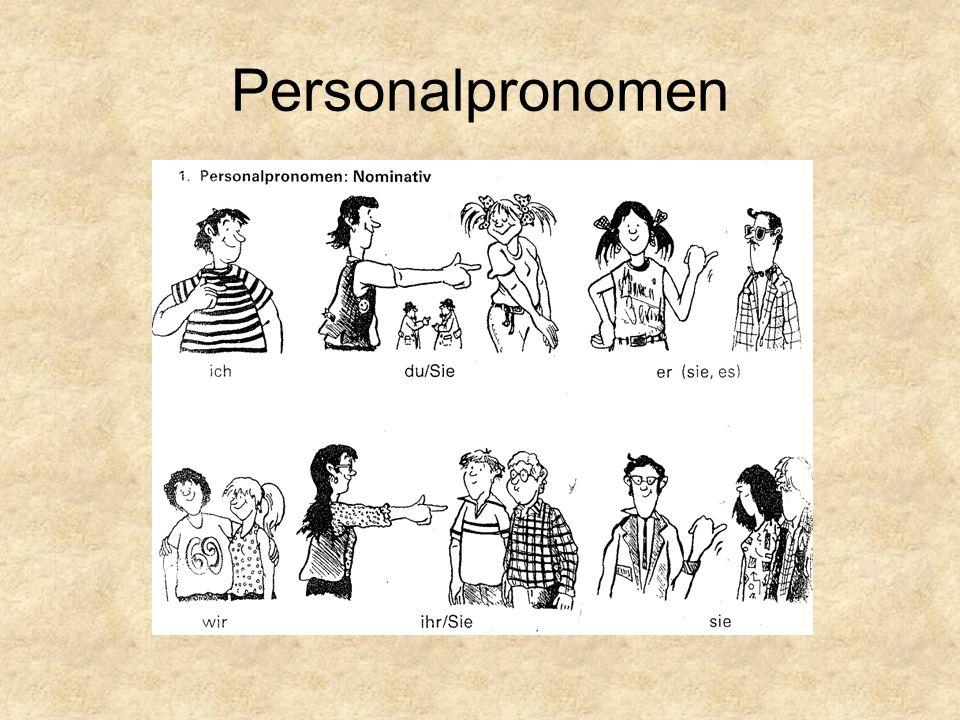für wörter pronomen üben 3 klasse übung