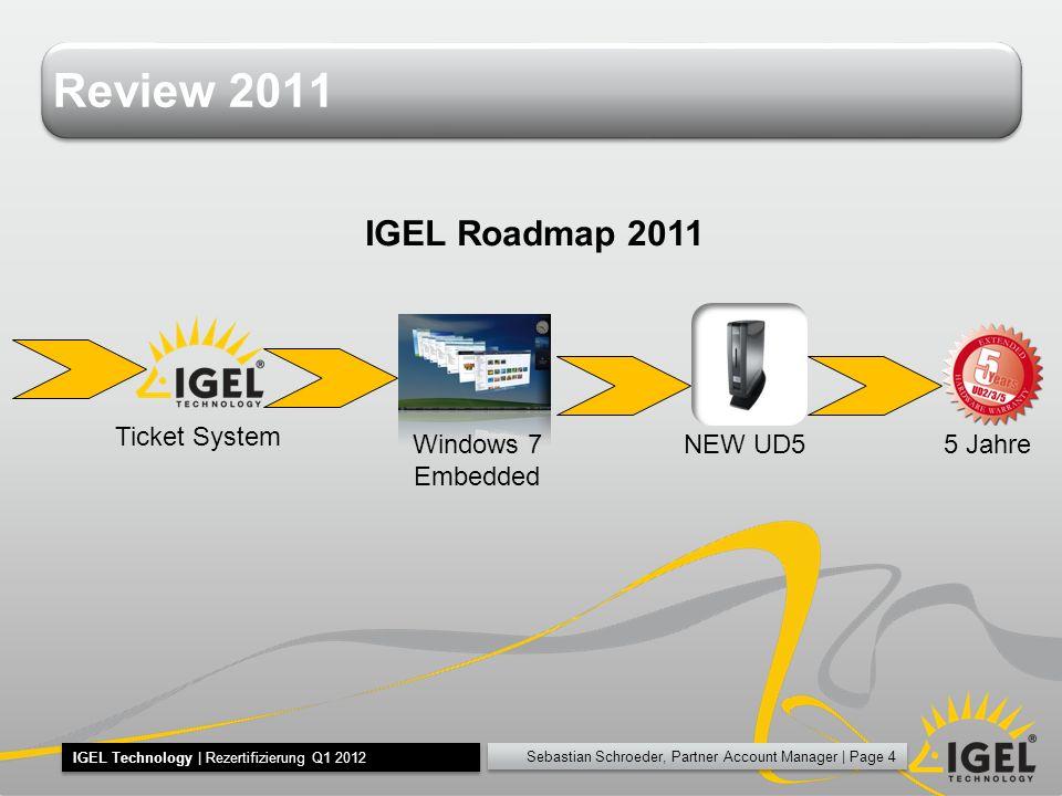 Sebastian Schroeder, Partner Account Manager   Page 55 IGEL Technology   Rezertifizierung Q1 2012 M LPSID ITLU AY