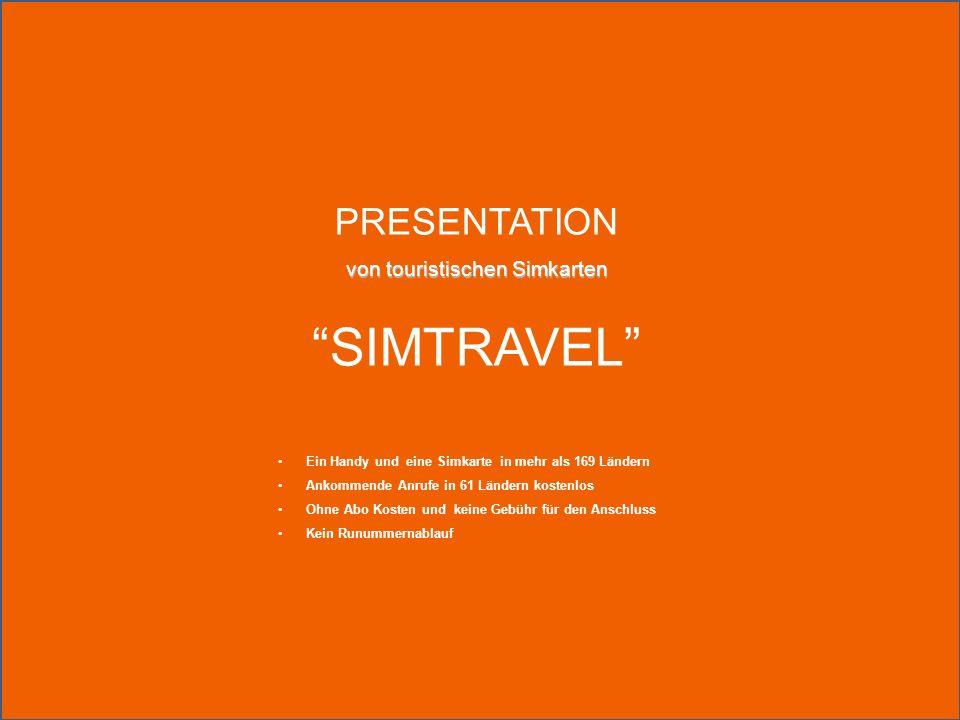Über das Produkt SIMTRAVEL - regelmäßige SIM-Karte für den Einsatz mit Mobiltelefonen in GSM-und 3G-Netze, unterstützt alle gängigen Funktionen und Operationen.