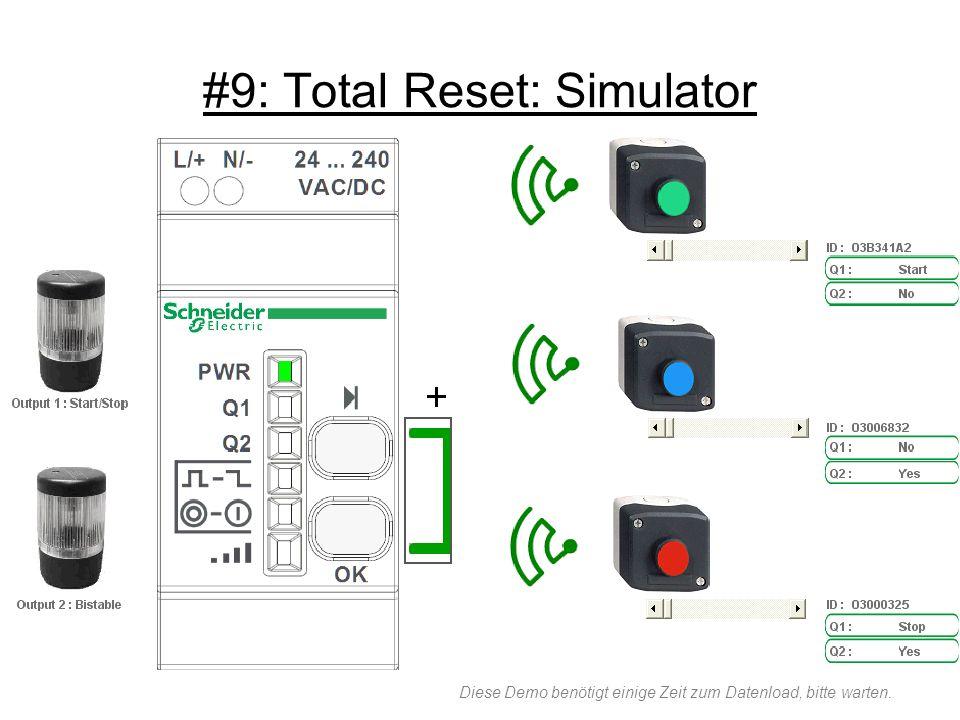 #9: Total Reset: Simulator Diese Demo benötigt einige Zeit zum Datenload, bitte warten.
