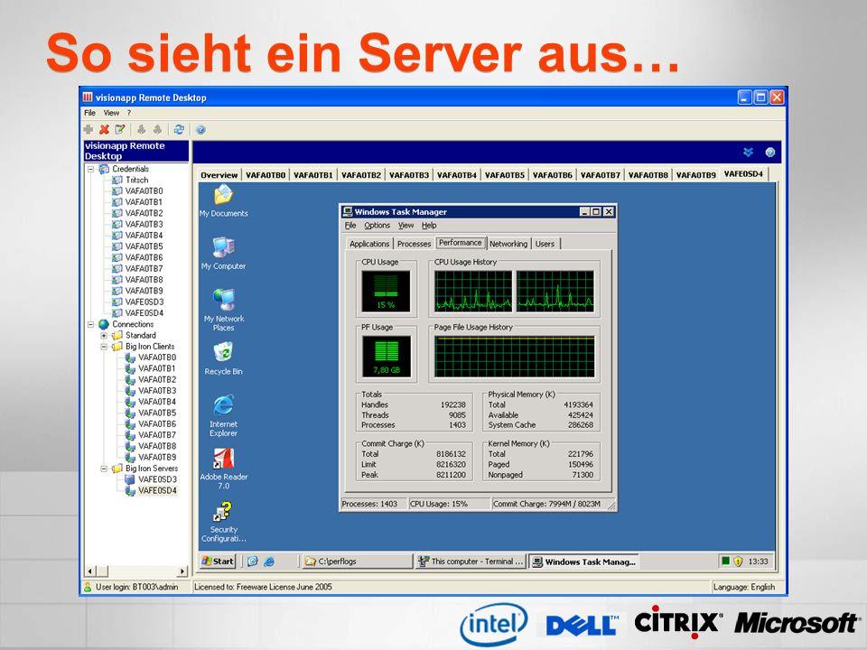 So sieht ein Server aus…
