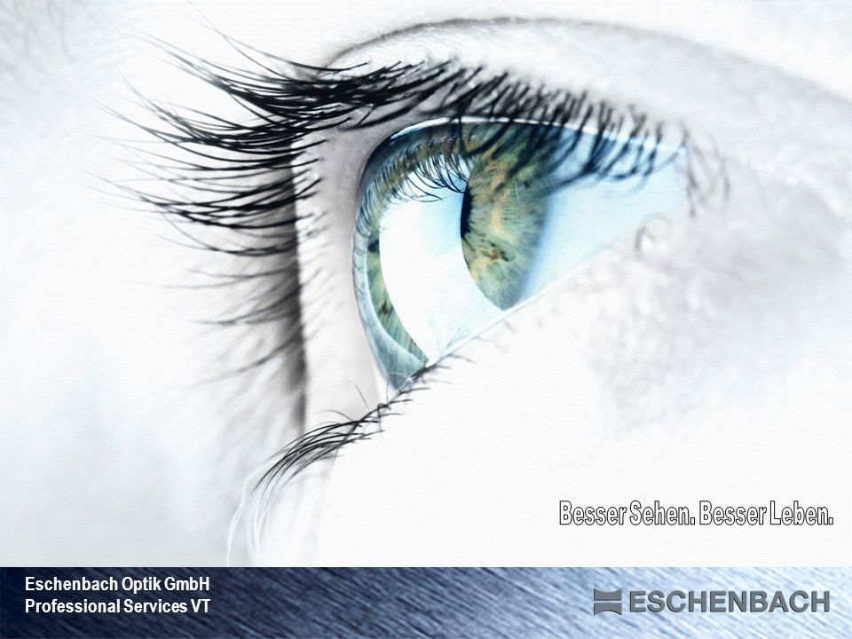 Eschenbach Optik GmbH Professional Services VT