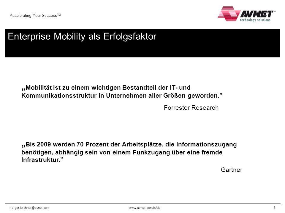 www.avnet.com/ts/de Accelerating Your Success TM holger.kirchner@avnet.com4 Umfassende Branchenkompetenz Einzelhandel Produktion Logistik & Transport Gesundheits- wesen Energie- versorgung