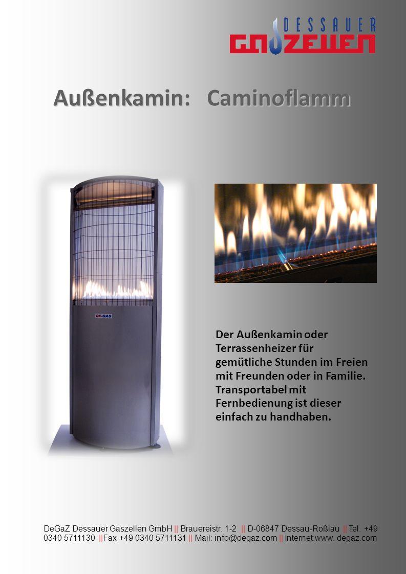 DeGaZ Dessauer Gaszellen GmbH || Brauereistr. 1-2 || D-06847 Dessau-Roßlau || Tel. +49 0340 5711130 ||Fax +49 0340 5711131 || Mail: info@degaz.com ||