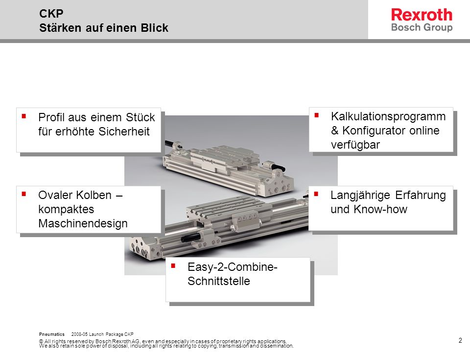 © All rights reserved by Bosch Rexroth AG, even and especially in cases of proprietary rights applications.