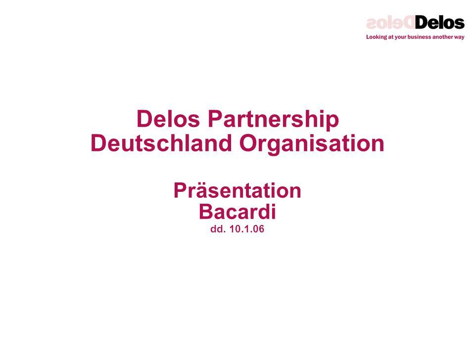 Delos Partnership Deutschland Organisation Präsentation Bacardi dd. 10.1.06