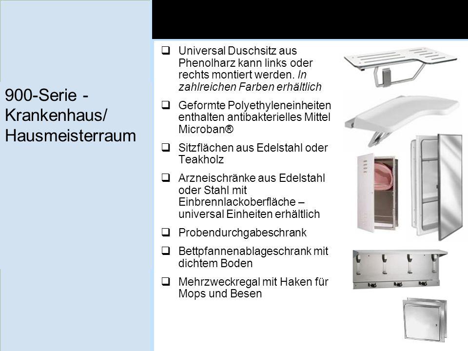 900-Serie - Krankenhaus/ Hausmeisterraum Universal Duschsitz aus Phenolharz kann links oder rechts montiert werden. In zahlreichen Farben erhältlich G