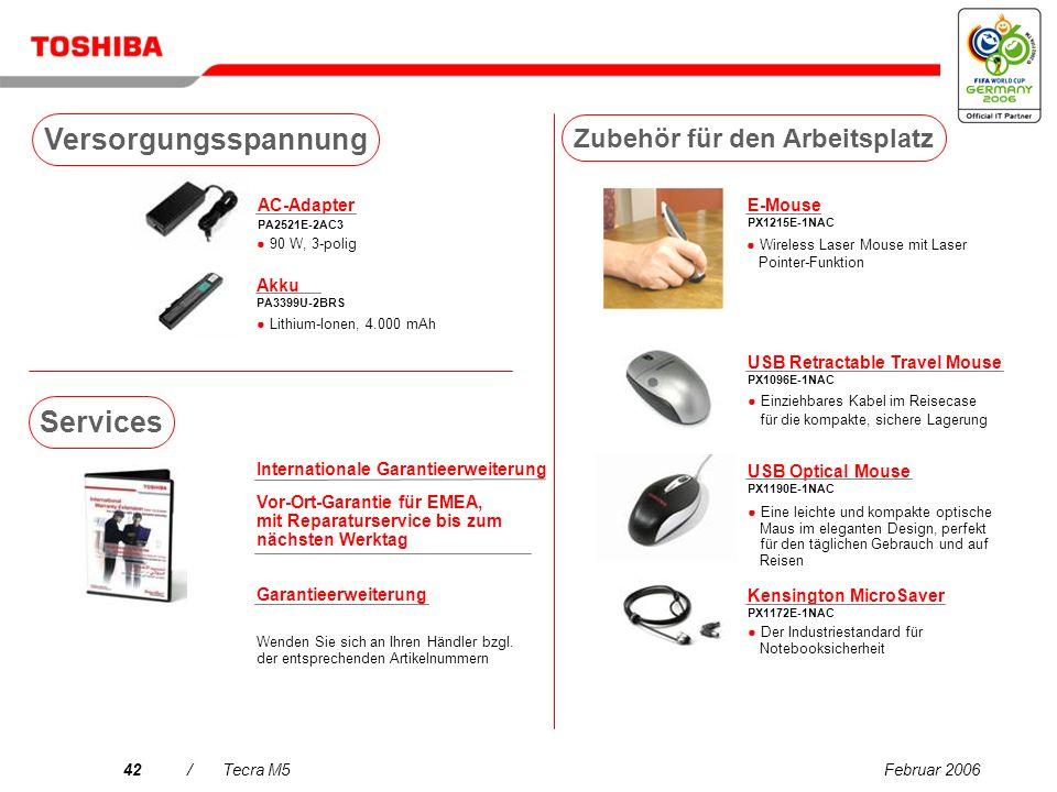 Februar 200641/Tecra M5 USB DVB-T TV Tuner PX1211E-1TVD Kostenloser DVB-T- kompatibler digitaler terrestrischer TV-Empfang (Antenne enthalten)* Wirele