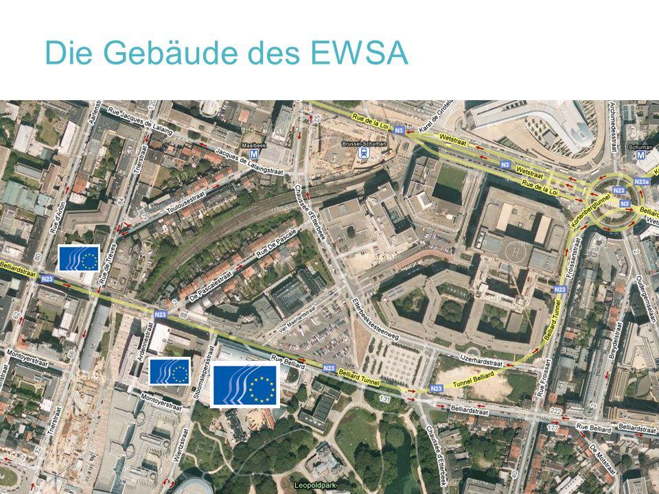 Die Gebäude des EWSA