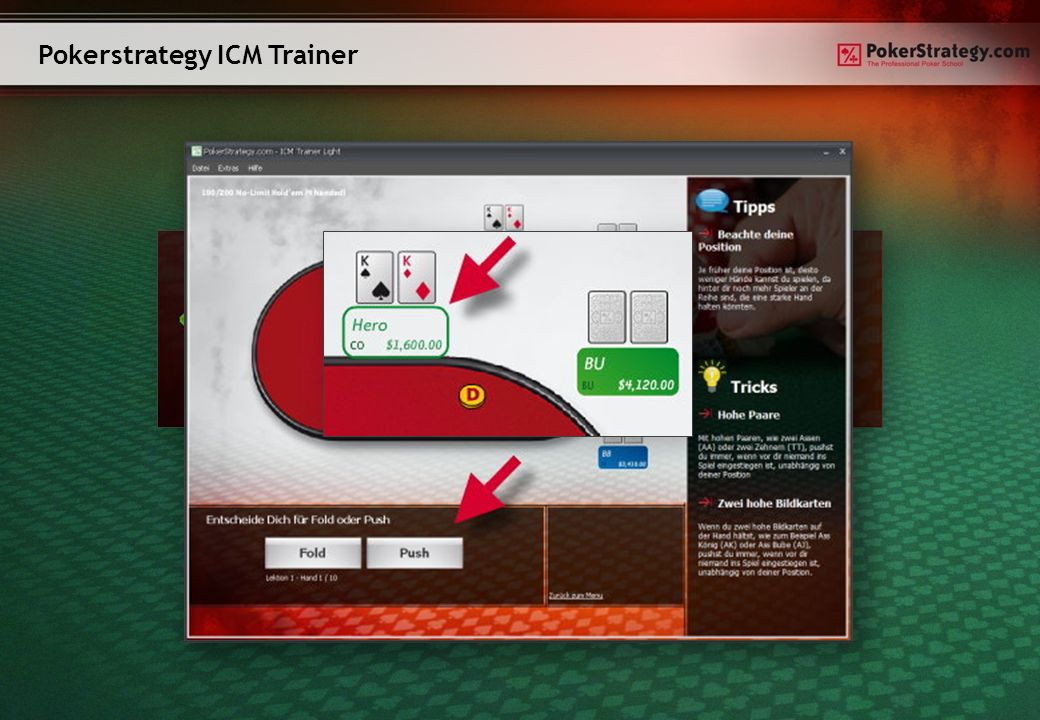 Pokerstrategy ICM Trainer