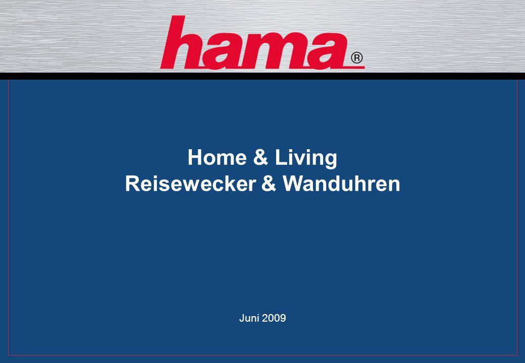 Home & Living Reisewecker & Wanduhren Juni 2009