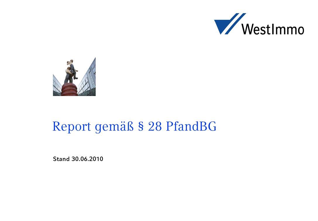 Report gemäß § 28 PfandBG Stand 30.06.2010