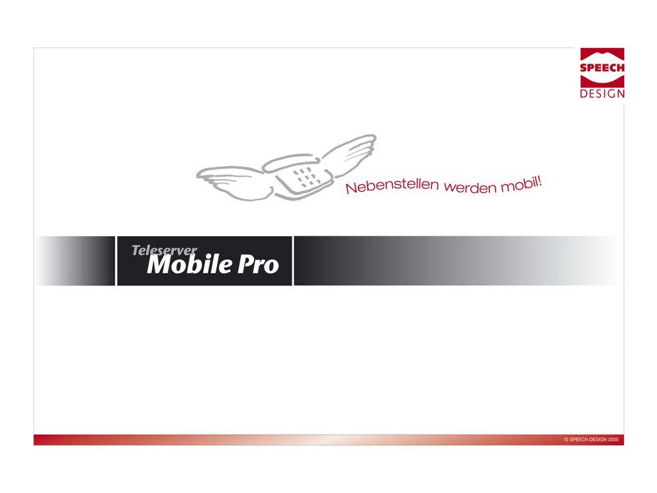 2 Einleitung Kurzeinleitung Mobile Pro für Nokia 6310i Warum Mobile Pro.