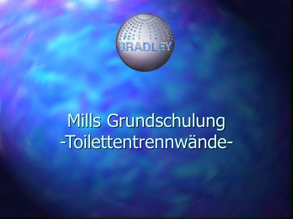 Mills Grundschulung -Toilettentrennwände-