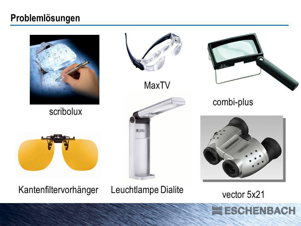 scribolux combi-plus Kantenfiltervorhänger vector 5x21 MaxTV Problemlösungen Leuchtlampe Dialite