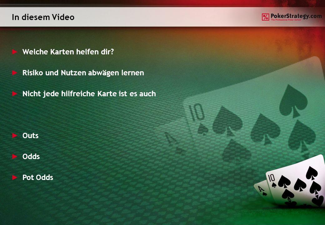 In diesem Video Welche Karten helfen dir.