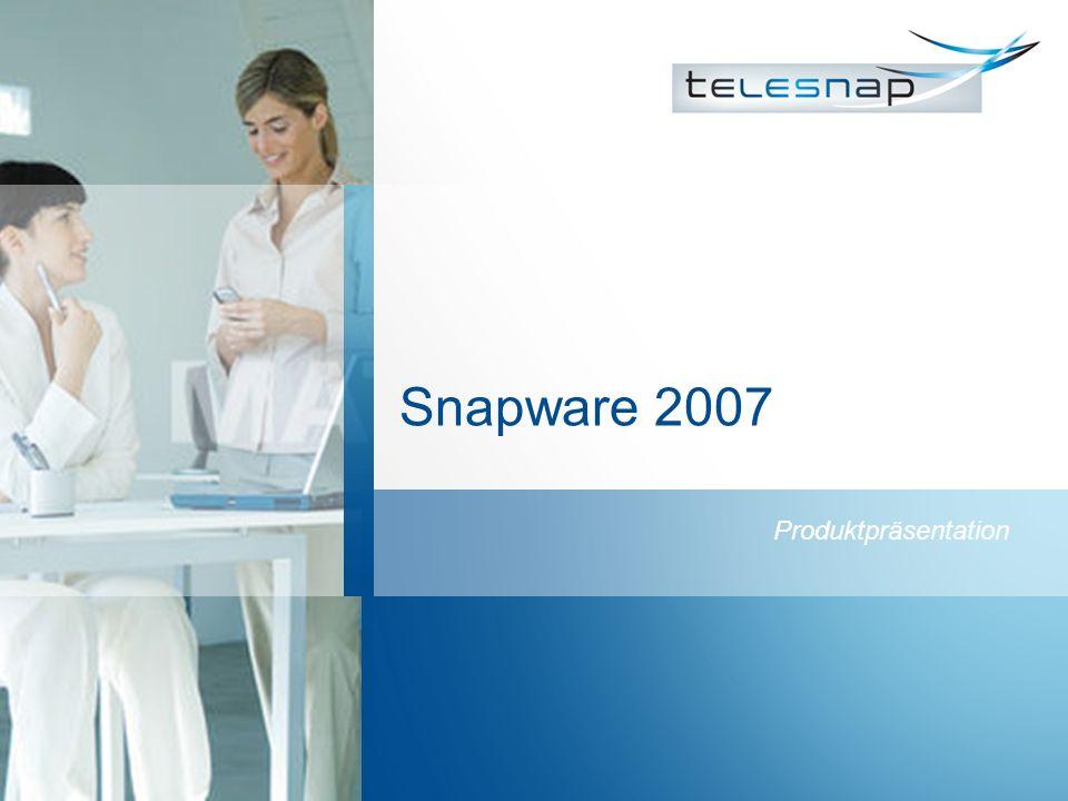 Snapware 2007 Produktpräsentation
