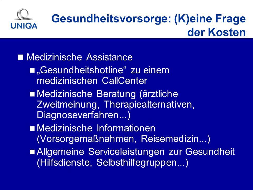 Medizinische Assistance Gesundheitshotline zu einem medizinischen CallCenter Medizinische Beratung (ärztliche Zweitmeinung, Therapiealternativen, Diag