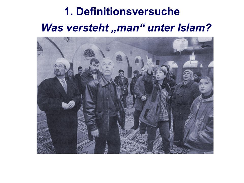 Allah...ist das arabische Wort für Gott Allah ist einzig.