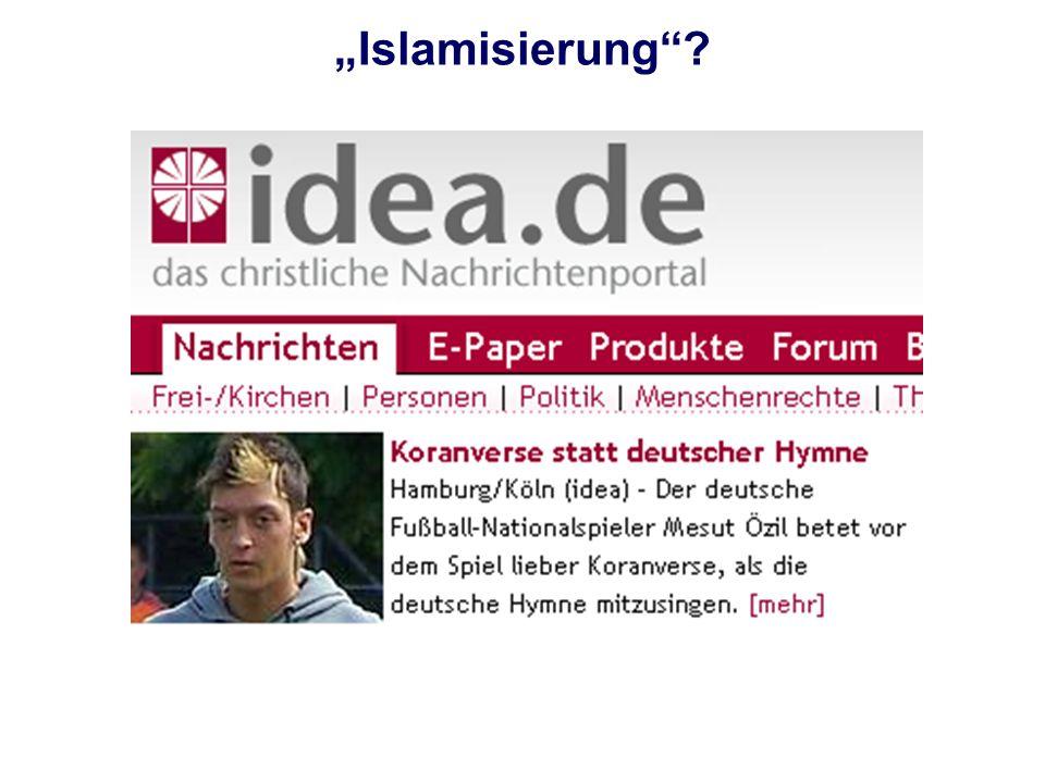 Islamisierung?