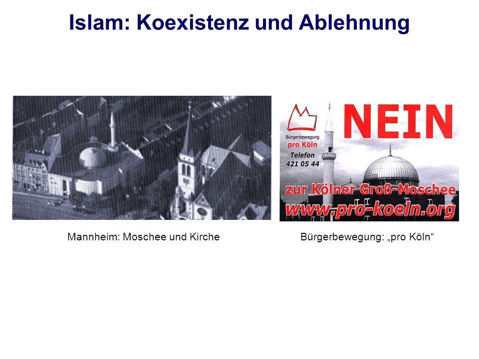 Muslimisches Leben – vielfältig .- 3,4 Mio. Muslime in Deutschland - 1,9 Mio.