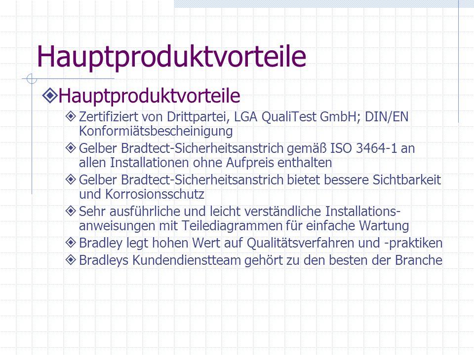 Neue Produkte - Eingelassene Augen- und Körperduschen Eingebaute Augen- und Körperduschen S19-125BF, Körperdusche Eingelassener Aktivierungshebel Abge