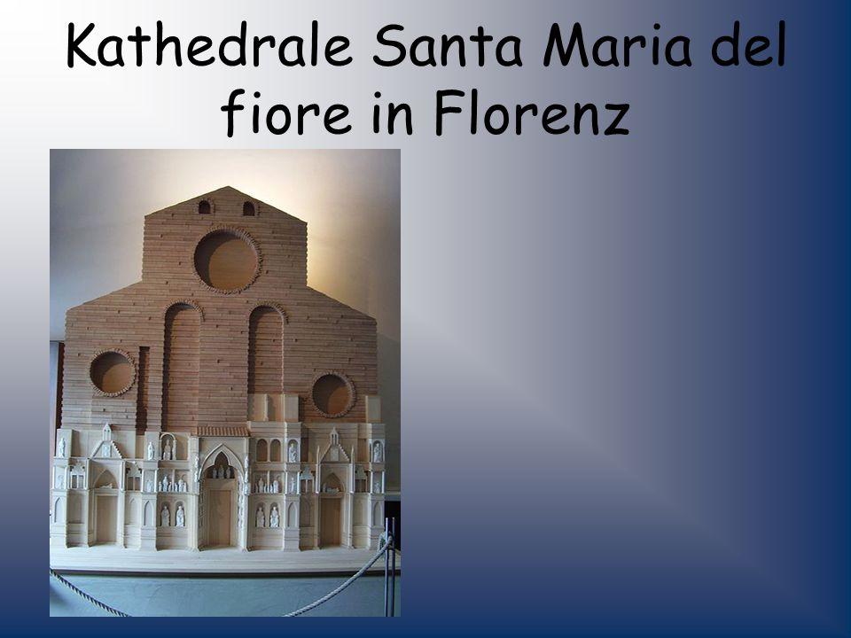 Kathedrale Santa Maria del fiore in Florenz