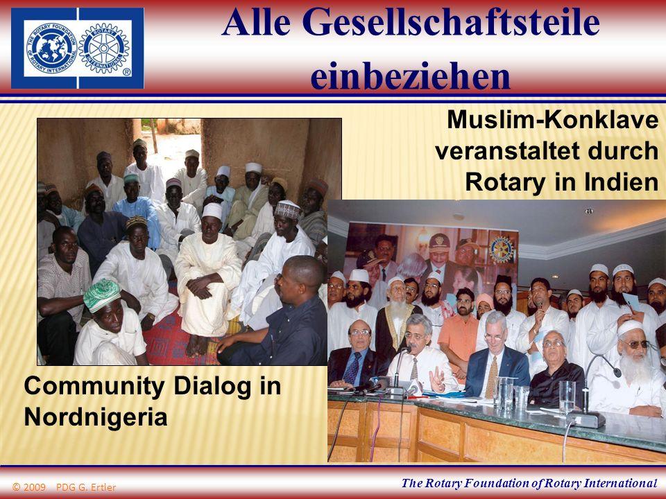 The Rotary Foundation of Rotary International Alle Gesellschaftsteile einbeziehen Community Dialog in Nordnigeria Muslim-Konklave veranstaltet durch R