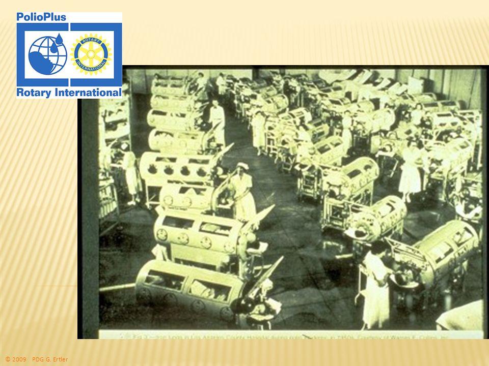The Rotary Foundation of Rotary International Reduktions des Risikos von Einschleppungen: Internationale Reisen: Polio-Imfungen für alle Reisenden aus und in Infektionsgebiete/n Internationale Gesundheits- regulierungen zu Polio Saudi Arabien und andere verlangen Impfnachweis für Einreisevisa © 2009 PDG G.